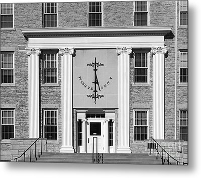 Lawrence University Main Hall Sundial Metal Print