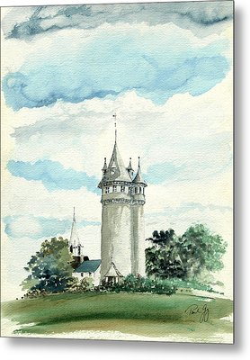 Lawson Tower Scituate Ma Metal Print