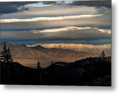 Layers Metal Print by Cat Connor