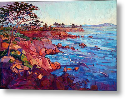 Layers Of Monterey Metal Print