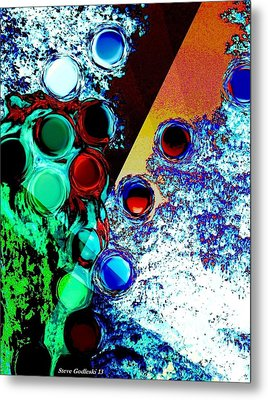 Layers Of Time Metal Print by Steve Godleski