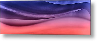 Layerscape In Color Metal Print by Kellice Swaggerty