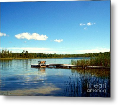 Lazy Summer Day Metal Print