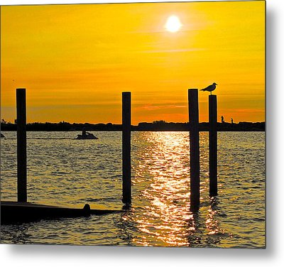 Lazy Summer Day Metal Print by Frozen in Time Fine Art Photography