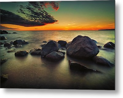 Lazy Sunset Metal Print
