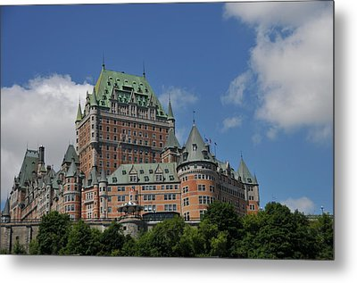 Le Chateau Frontenac  -- Quebec City Metal Print
