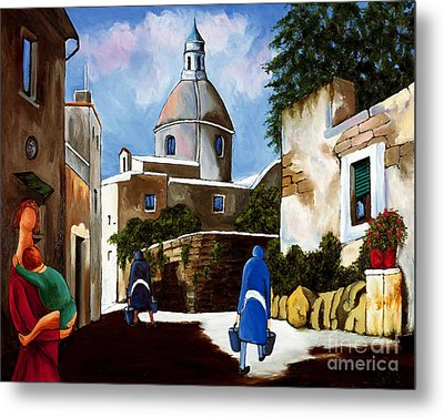 Le Dome Metal Print by William Cain