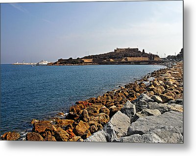 Le Fort Carre - Antibes - France Metal Print by Christine Till