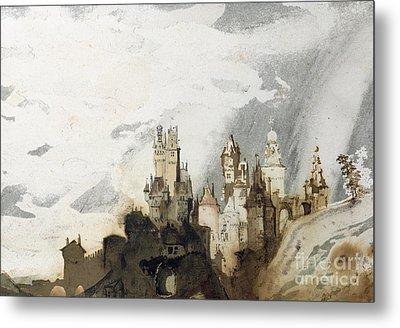 Le Gai Chateau Metal Print by Victor Hugo
