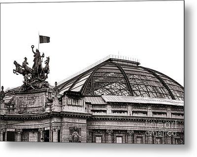 Le Grand Palais Metal Print by Olivier Le Queinec