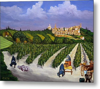 Le Provence Metal Print by William Cain