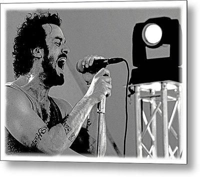 Lead Singer II Metal Print by James Hammen