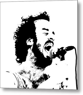 Lead Singer Metal Print by James Hammen