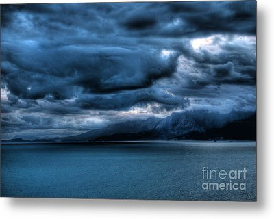 Leaden Clouds Metal Print by Erhan OZBIYIK