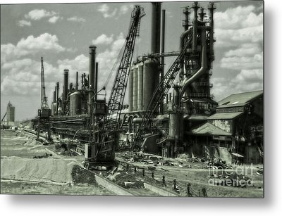 Leadville Factory Metal Print by Gregory Dyer