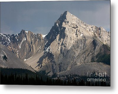 Metal Print featuring the photograph Leah Peak Canada by Chris Scroggins