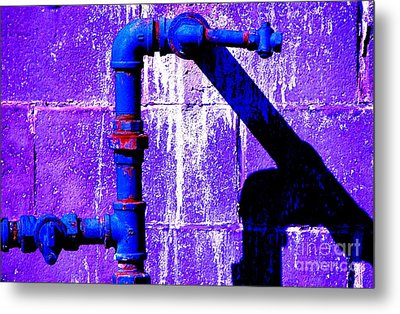 Metal Print featuring the photograph Leaky Faucet IIi by Christiane Hellner-OBrien
