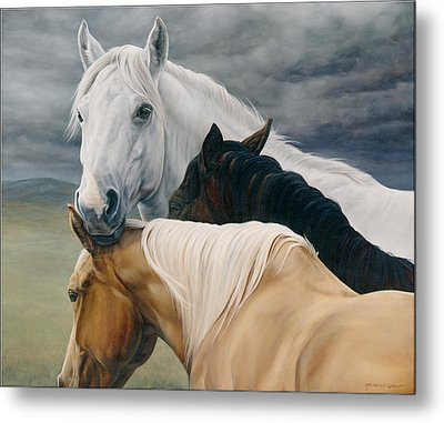 Lean On Me Metal Print by JQ Licensing