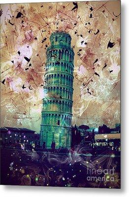 Leaning Tower Of Pisa 1 Metal Print