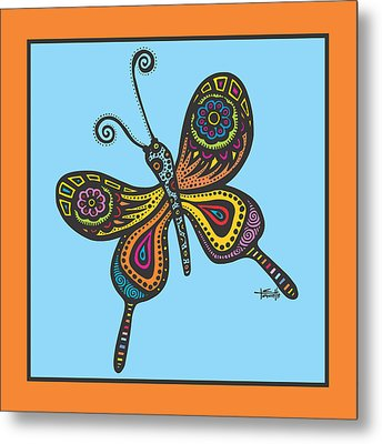 Learning To Fly Metal Print by Tanielle Childers