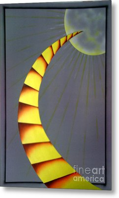 Learning Curve Metal Print