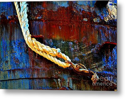 Learning The Ropes Metal Print by Lauren Leigh Hunter Fine Art Photography