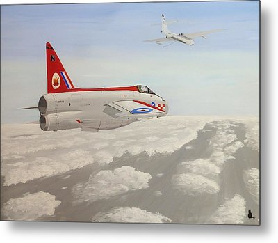 Learning To Refuel Metal Print by Jonathan Laverick