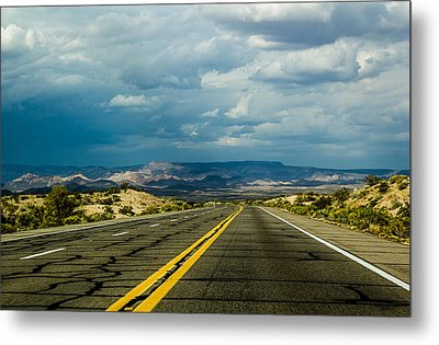 Metal Print featuring the photograph Leaving Arizona by April Reppucci