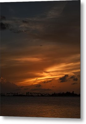 Leaving The Paradise  Metal Print