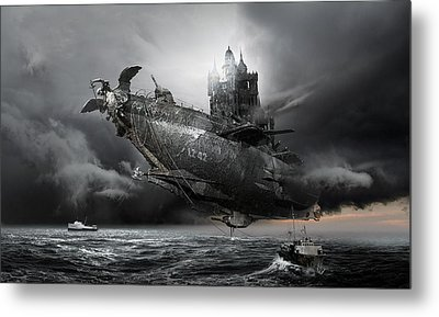 Led Zeppelin Excelsior Metal Print by George Grie