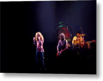Led Zeppelin  Metal Print by Kevin Cable
