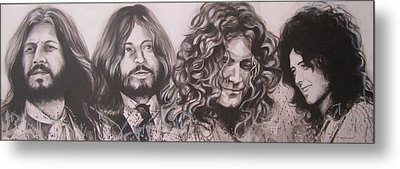 Led Zepplin Metal Print by Bruce McLachlan