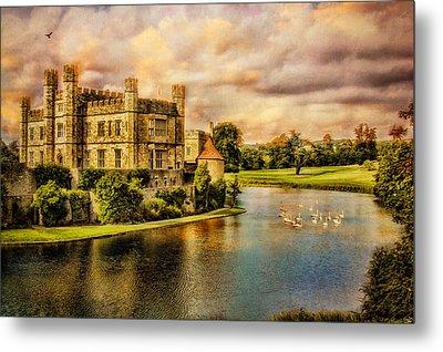 Leeds Castle Landscape Metal Print by Chris Lord