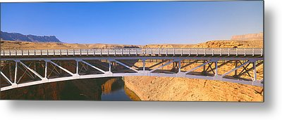 Lees Ferry In Marble Canyon, Navajo Metal Print by Panoramic Images