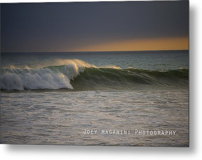 Left Metal Print by Joey  Maganini