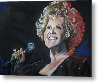 legend Brenda Lee Metal Print