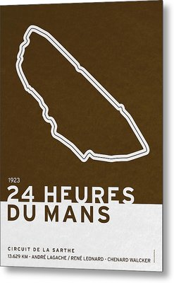Legendary Races - 1923 24 Heures Du Mans Metal Print by Chungkong Art