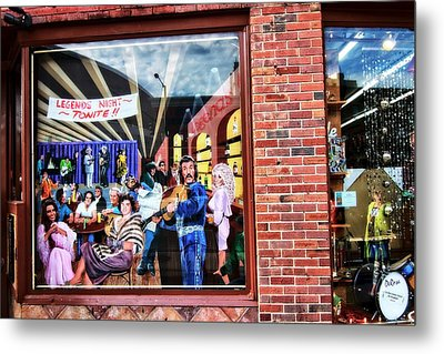 Legends Bar In Downtown Nashville Metal Print by Dan Sproul