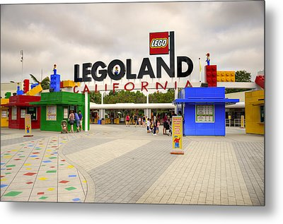 Legoland California Metal Print