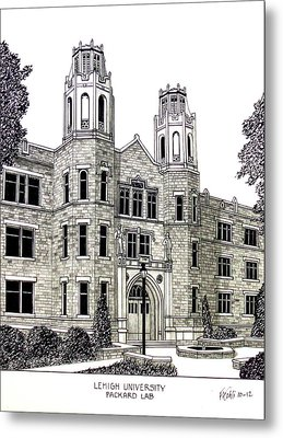 Lehigh University Metal Print