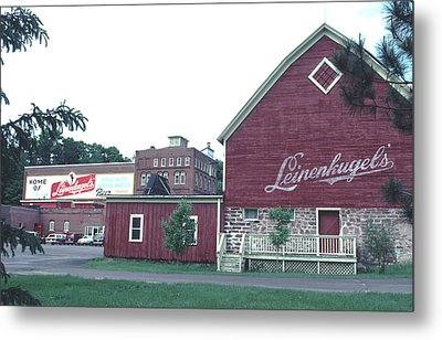 Metal Print featuring the photograph Leinenkugel Brewery Chippewa Falls Wi by Tom Wurl