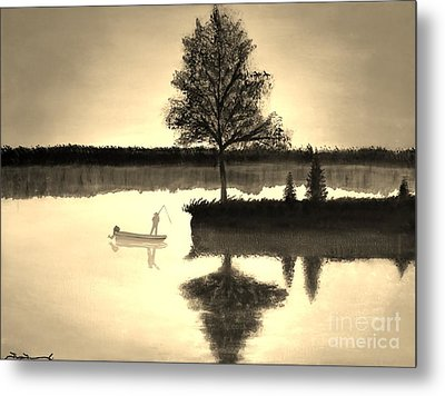 Leisure Time Metal Print by Tim Townsend