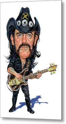 Lemmy Kilmister Metal Print by Art