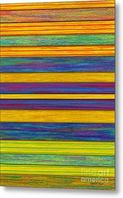 Lemon Berry Bars Metal Print by David K Small