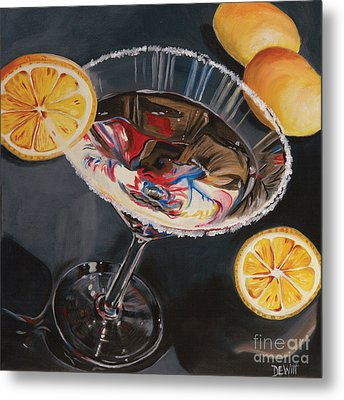 Lemon Drop Metal Print