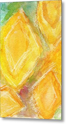 Lemon Drops Metal Print