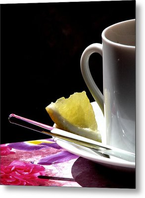 Lemon Please Metal Print by Angela Davies