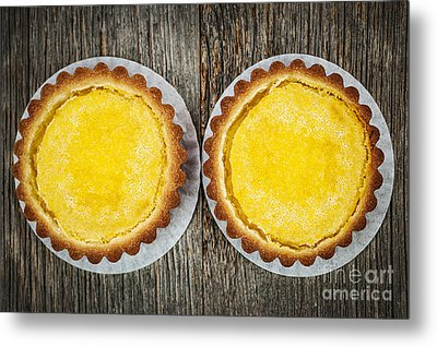 Lemon Tarts Metal Print