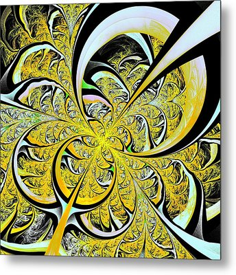 Lemon Twist Metal Print by Anastasiya Malakhova