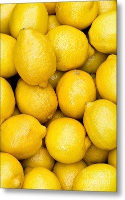 Lemons 02 Metal Print by Rick Piper Photography